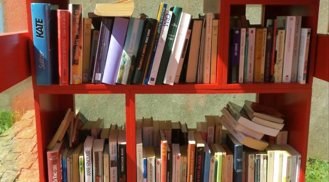 Des livres en cabine